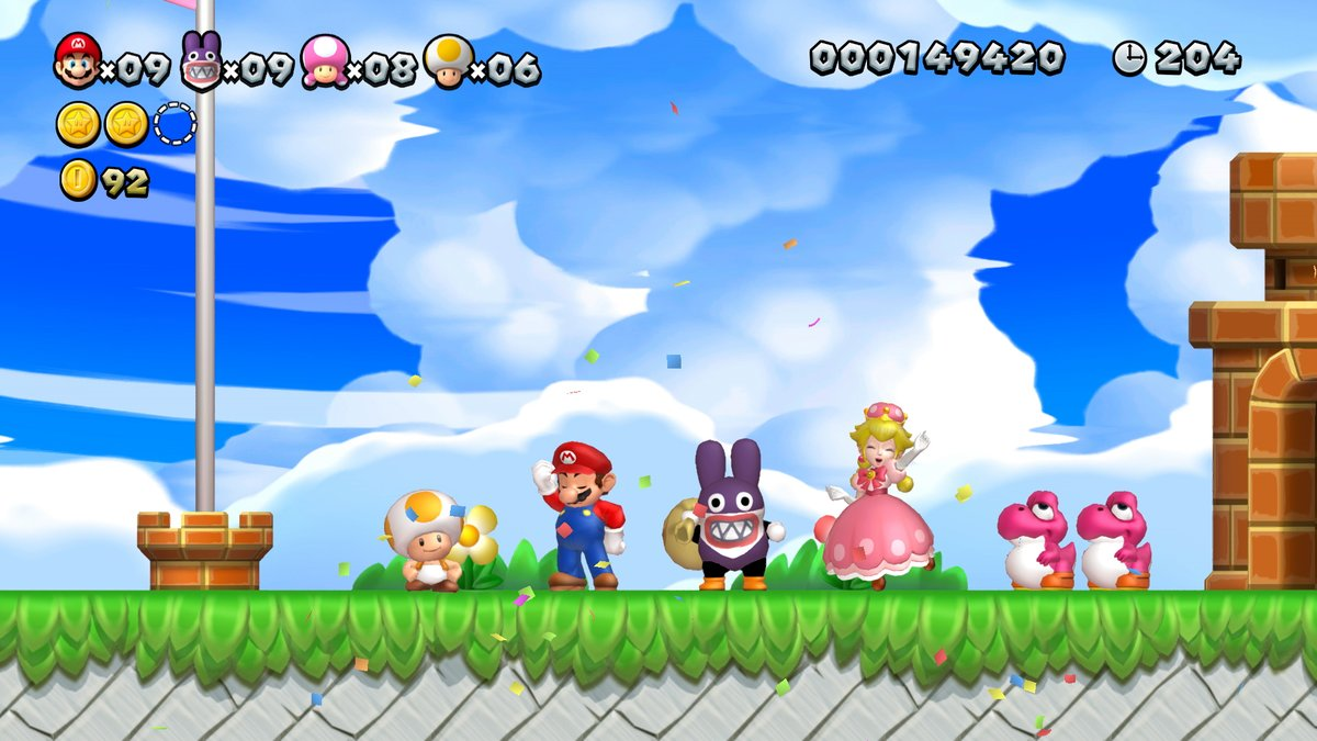New Super Mario Bros U Deluxe Resolution Frame Rate And Wii U Difference Explained