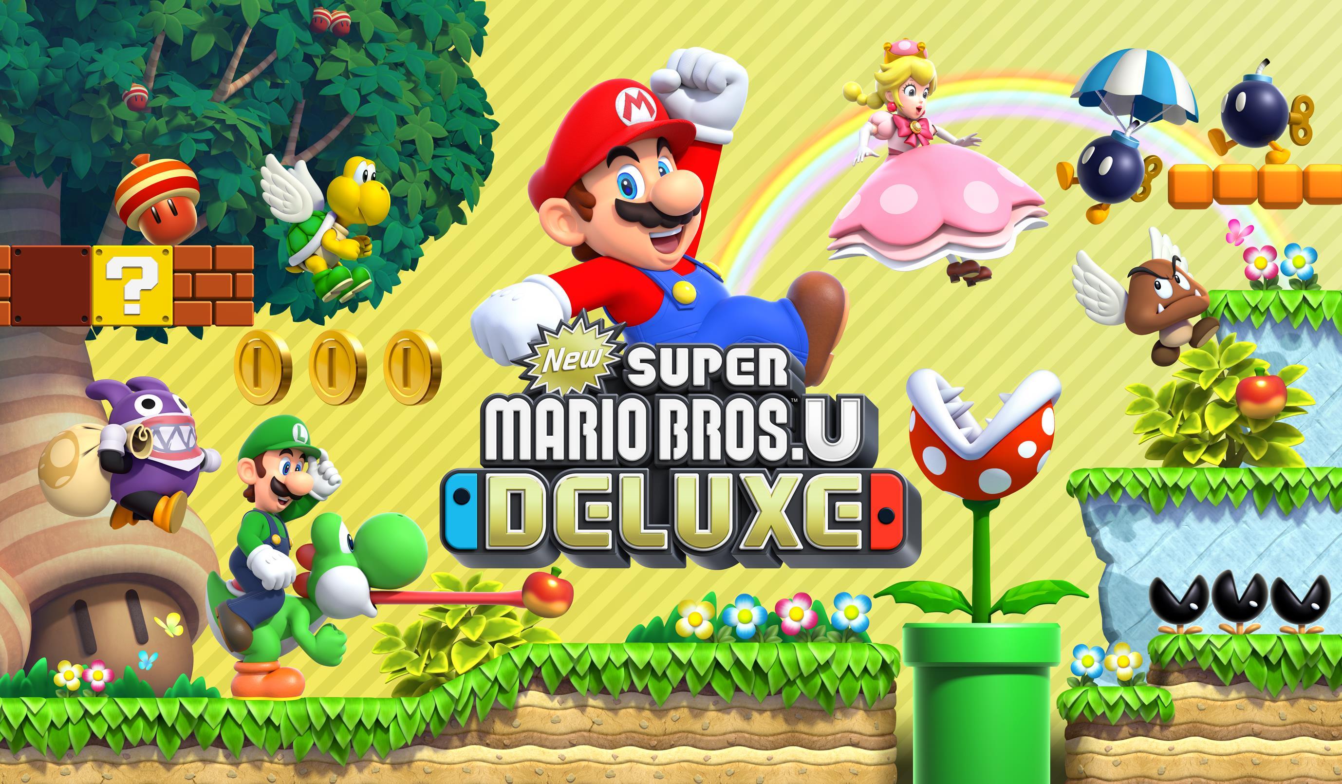 New Super Mario Bros U Deluxe Secret Exits How To Find All Secret