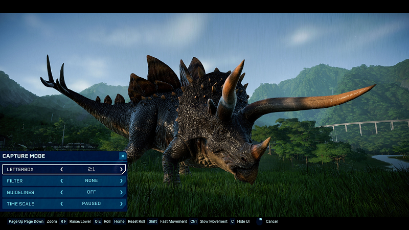 Jurassic World Evolution Gets Capture Camera Mode and New