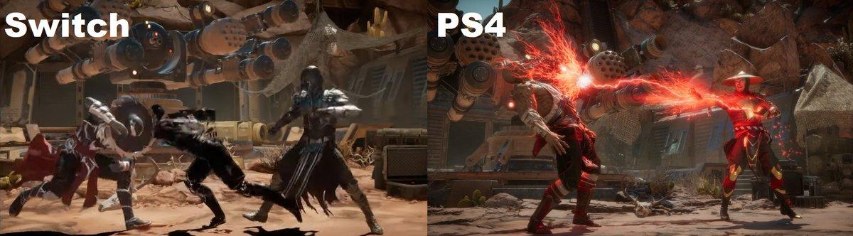 Mortal Kombat 11 Nintendo Switch Comparison Makes It Clear