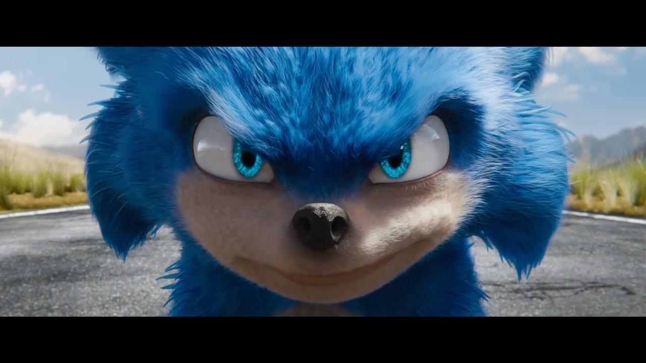 sonic the hedgehog movie new design