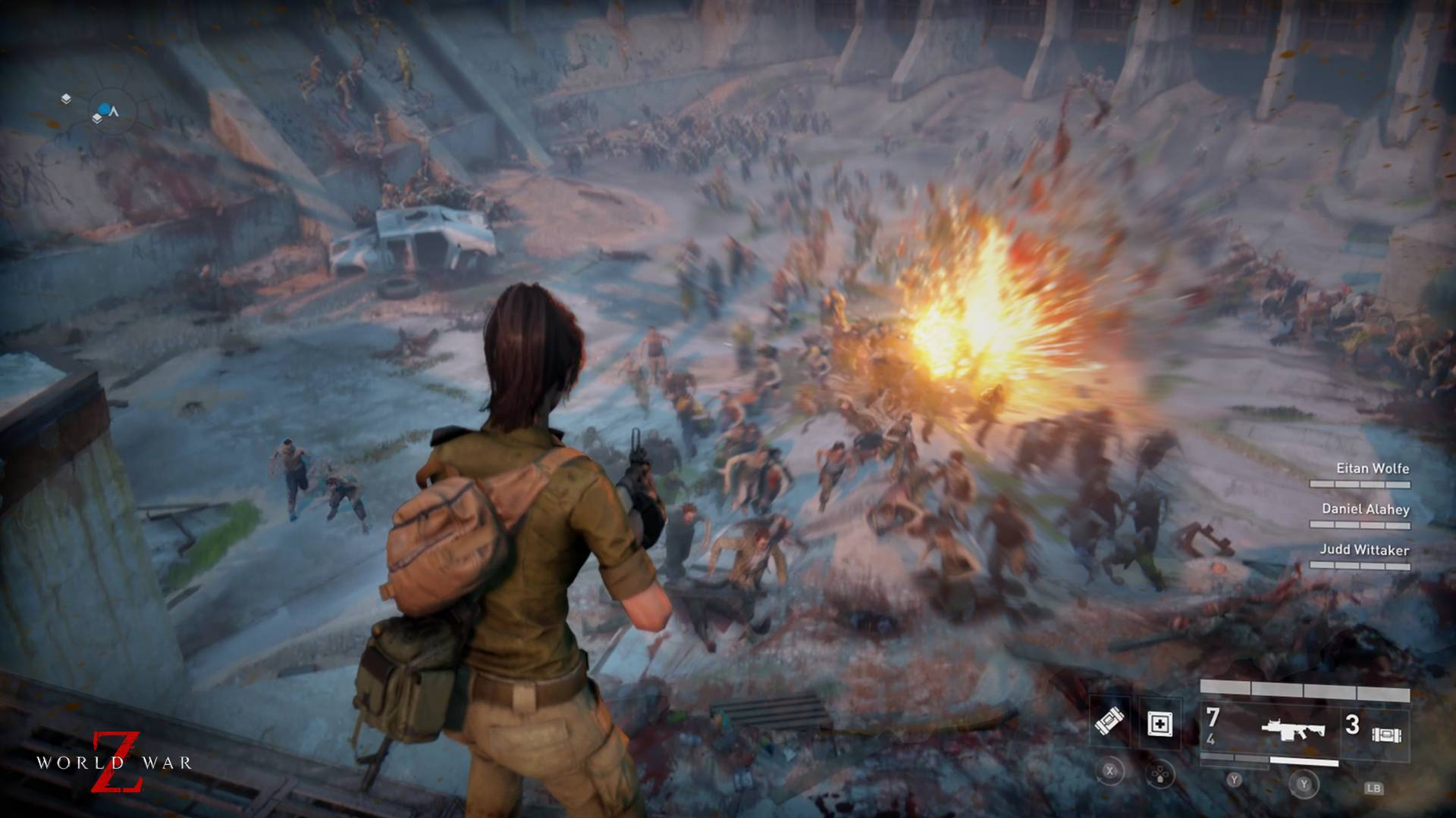 World War Z Update 1 03 Fixes Save File Corruption Bug and More