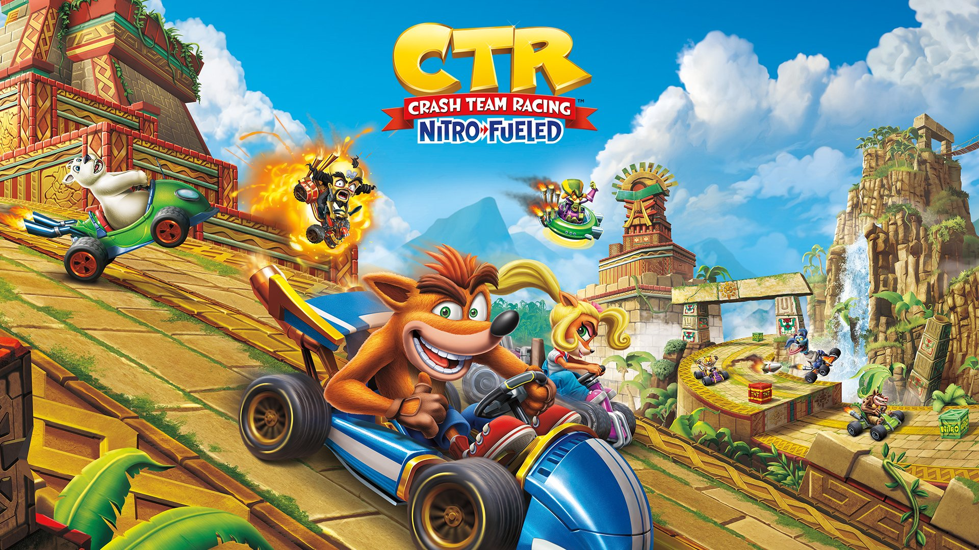 Crash Team Racing Nitro-Fueled Free PS4 Dynamic Theme Available For