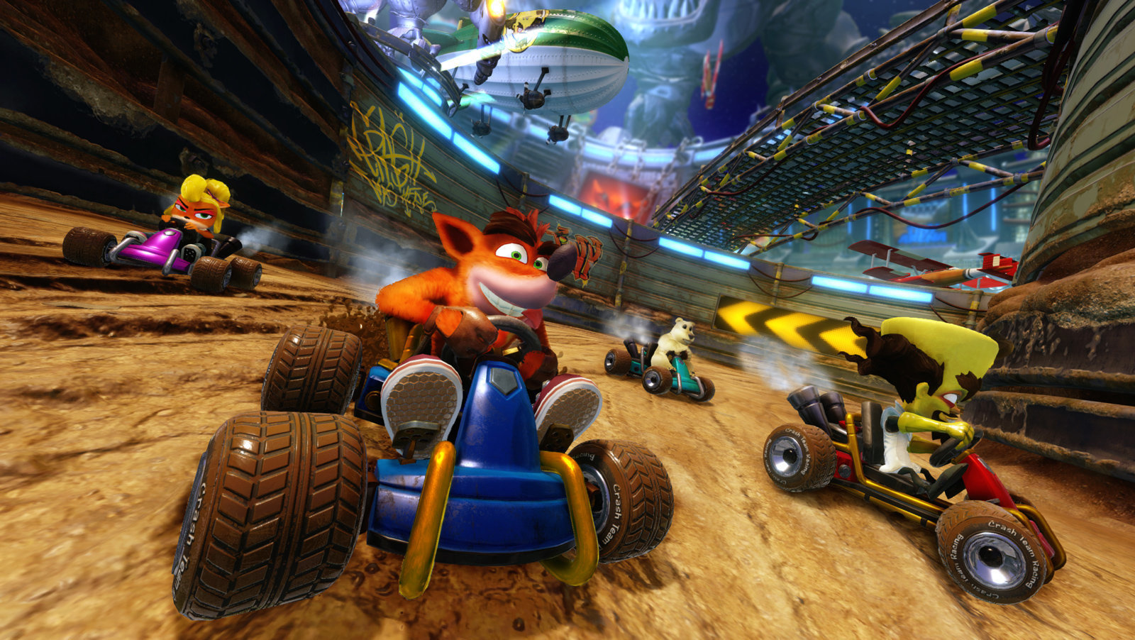 crash team racing nitro-fueled boost mode