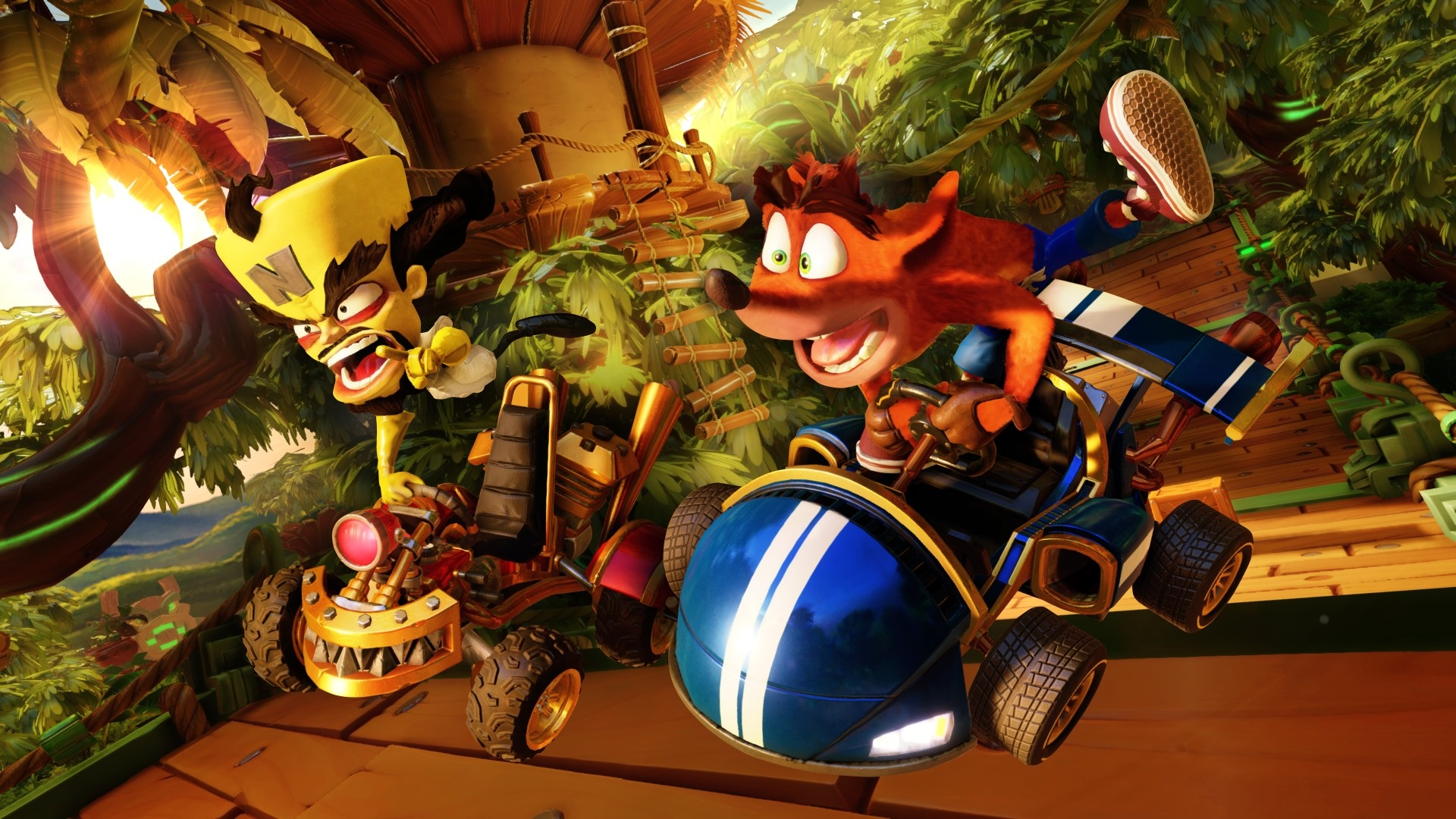 crash team racing nitro-fueled load times
