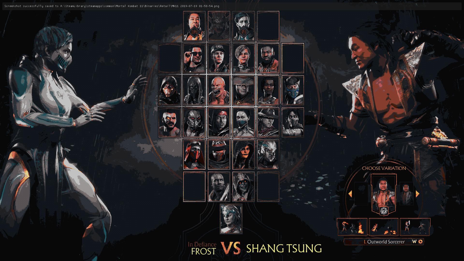 Mortal Kombat 11 Retro Mod Turns It Into a Classic 2D Fighter