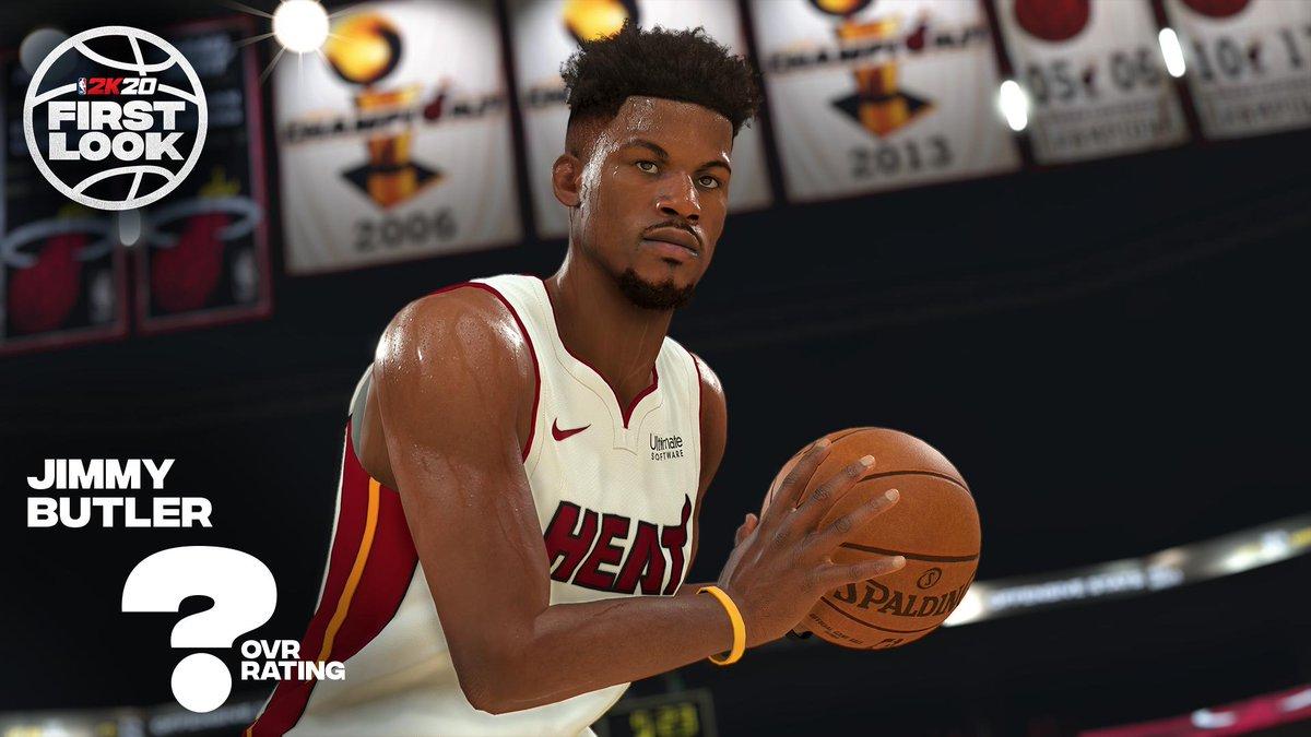 NBA 2K20 Screenshot Shows Jimmy Butler, Comparison With NBA 2K19