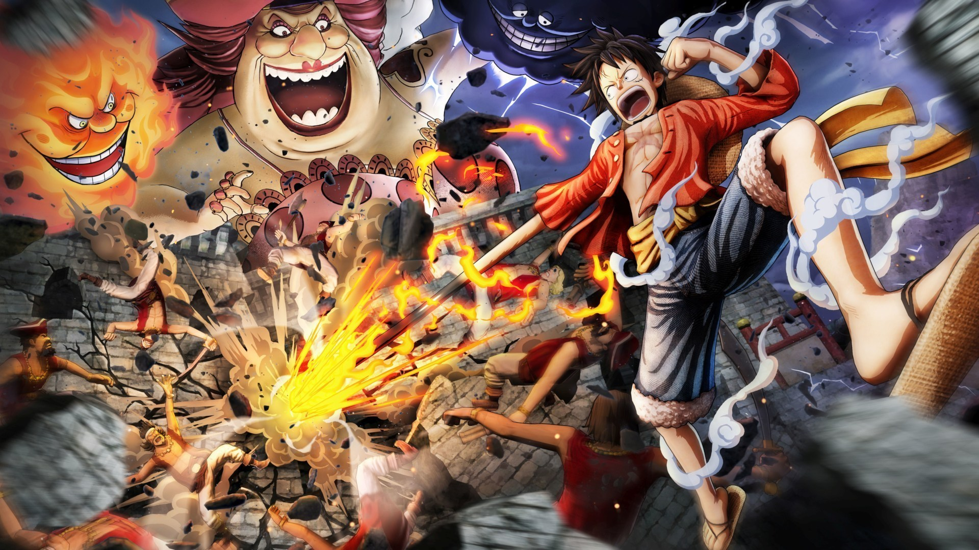 One Piece Pirate Warriors 4 Announced With a Trailer