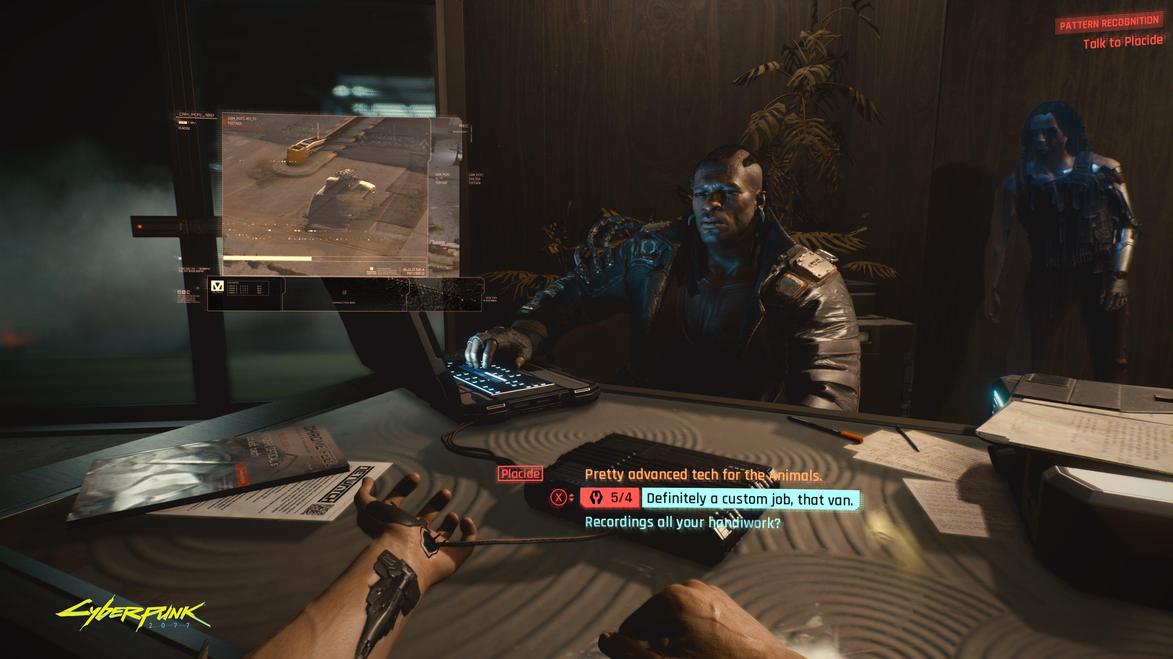 cyberpunk 2077 keanu reeves screen time