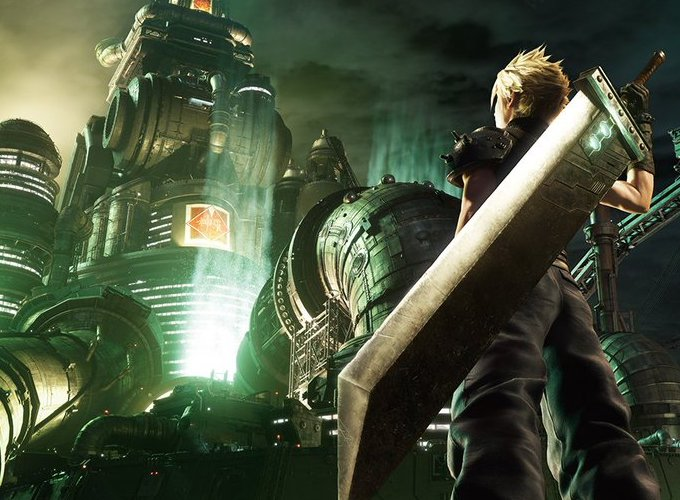 Final Fantasy Vii Remake Image Recreates Iconic Ps1 Box Art