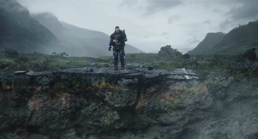 death stranding trailer the drop