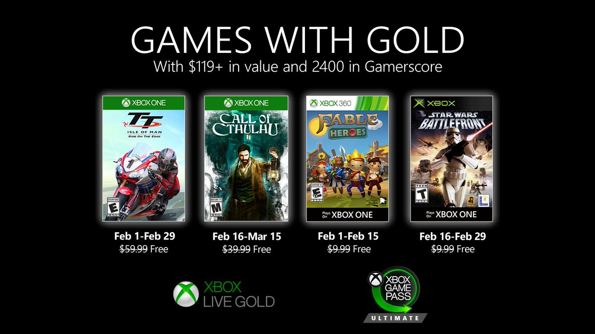 games with gold february 2020