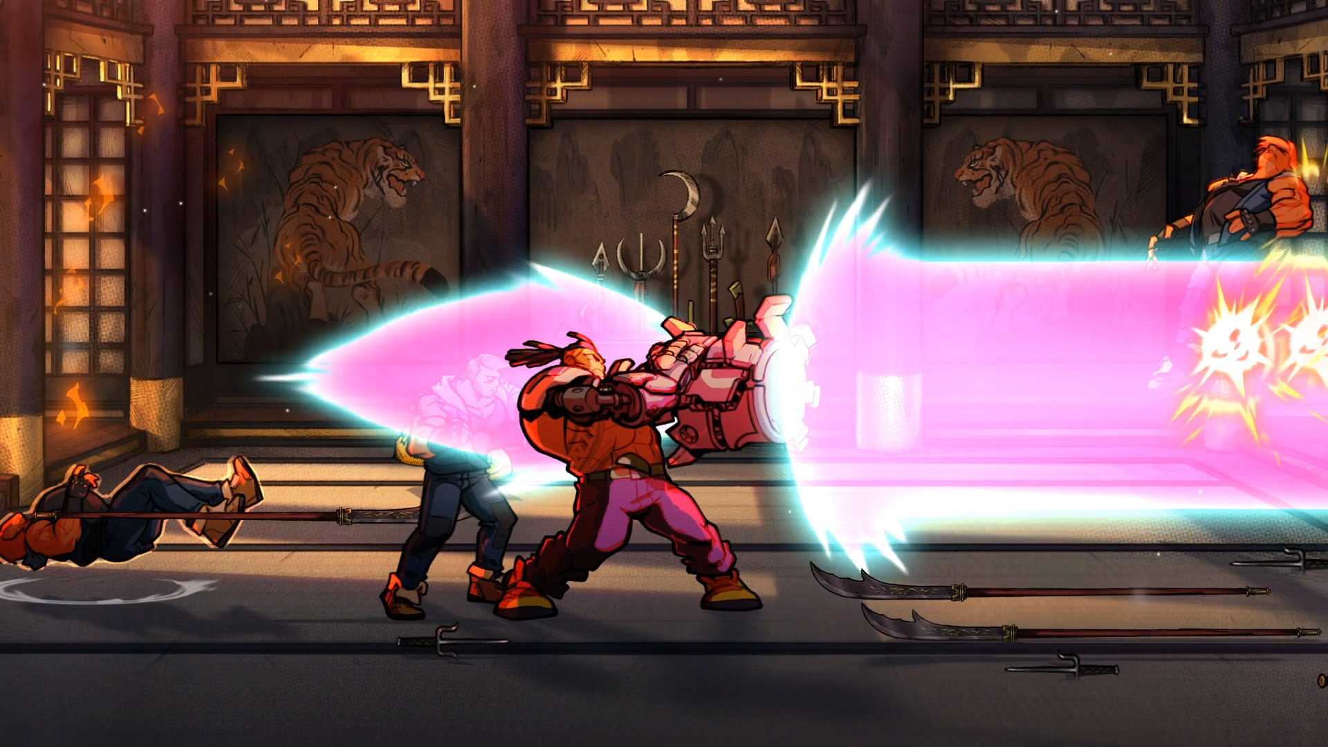 streets of rage 4 gameplay walkthrough and boss fight