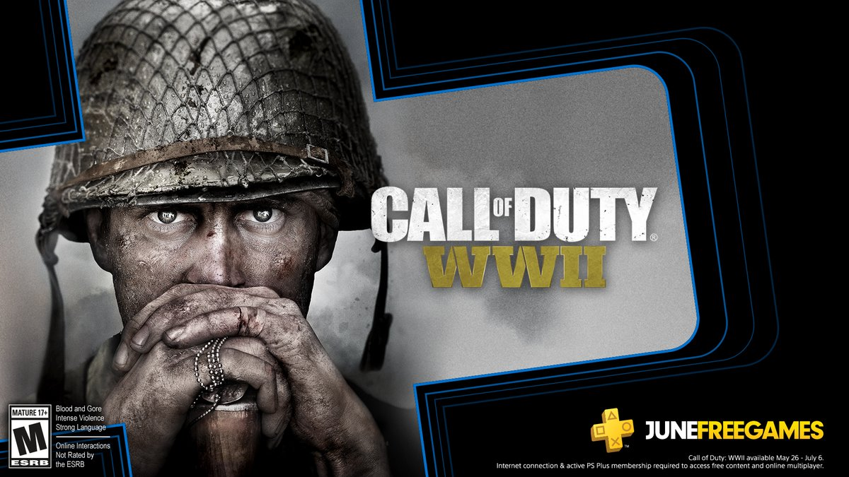 PS Plus June 2020 Lineup Adds Call of Duty WWII, More To Be Revealed