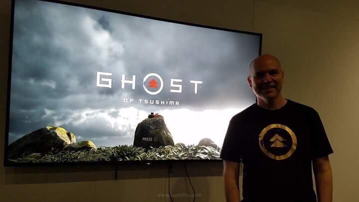 ghost of tsushima start screen