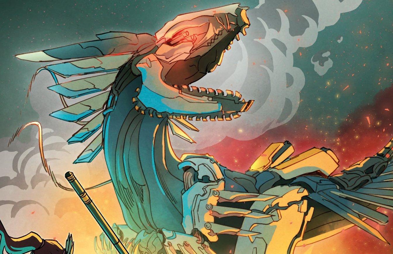 First Look at a New Robotic Dinosaur In Horizon Zero Dawn Sequel