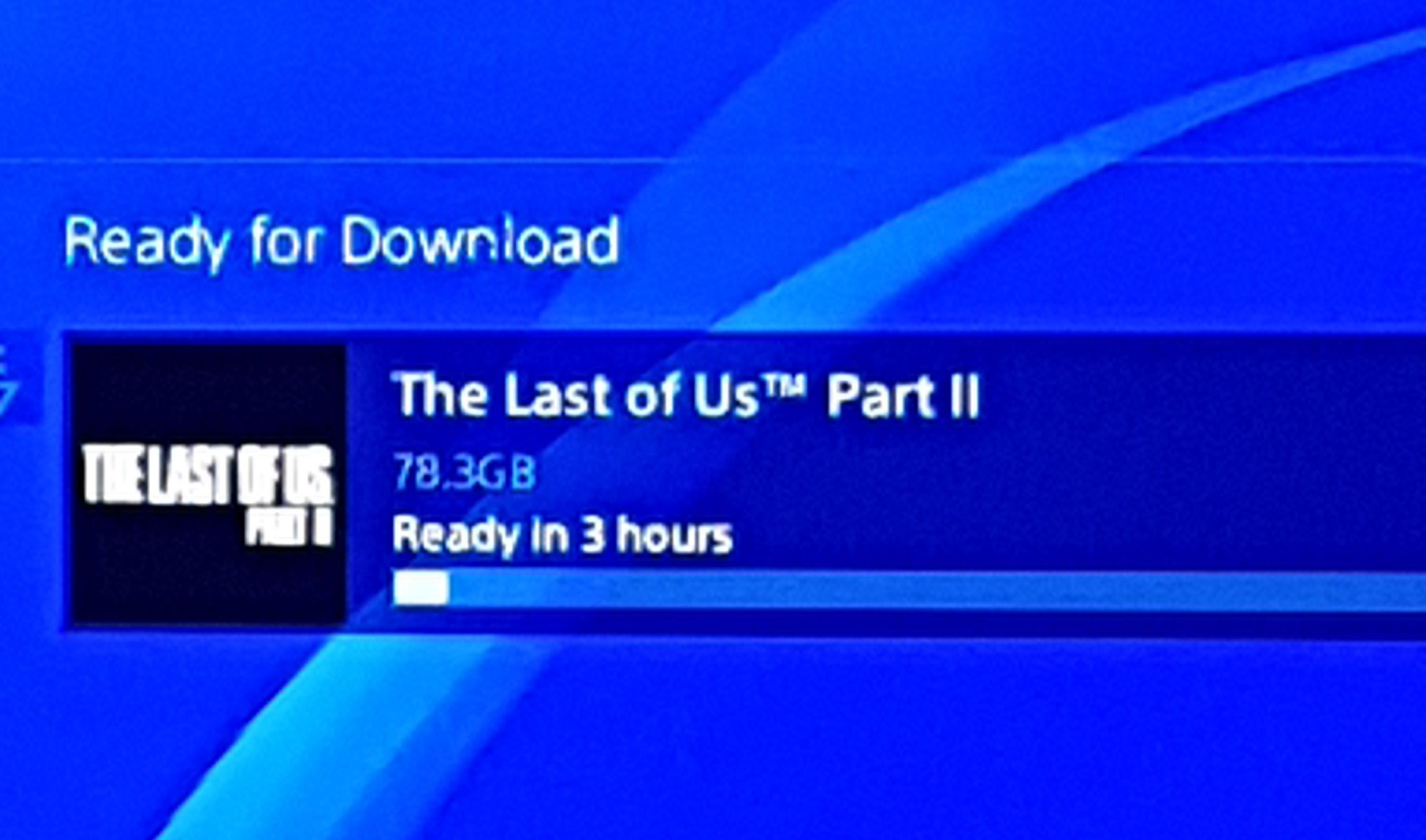 the last of us part 2 download size