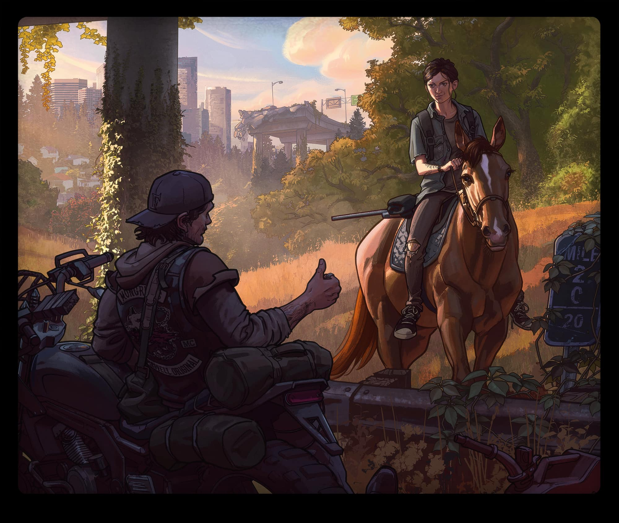 the last of us part 2 artwork