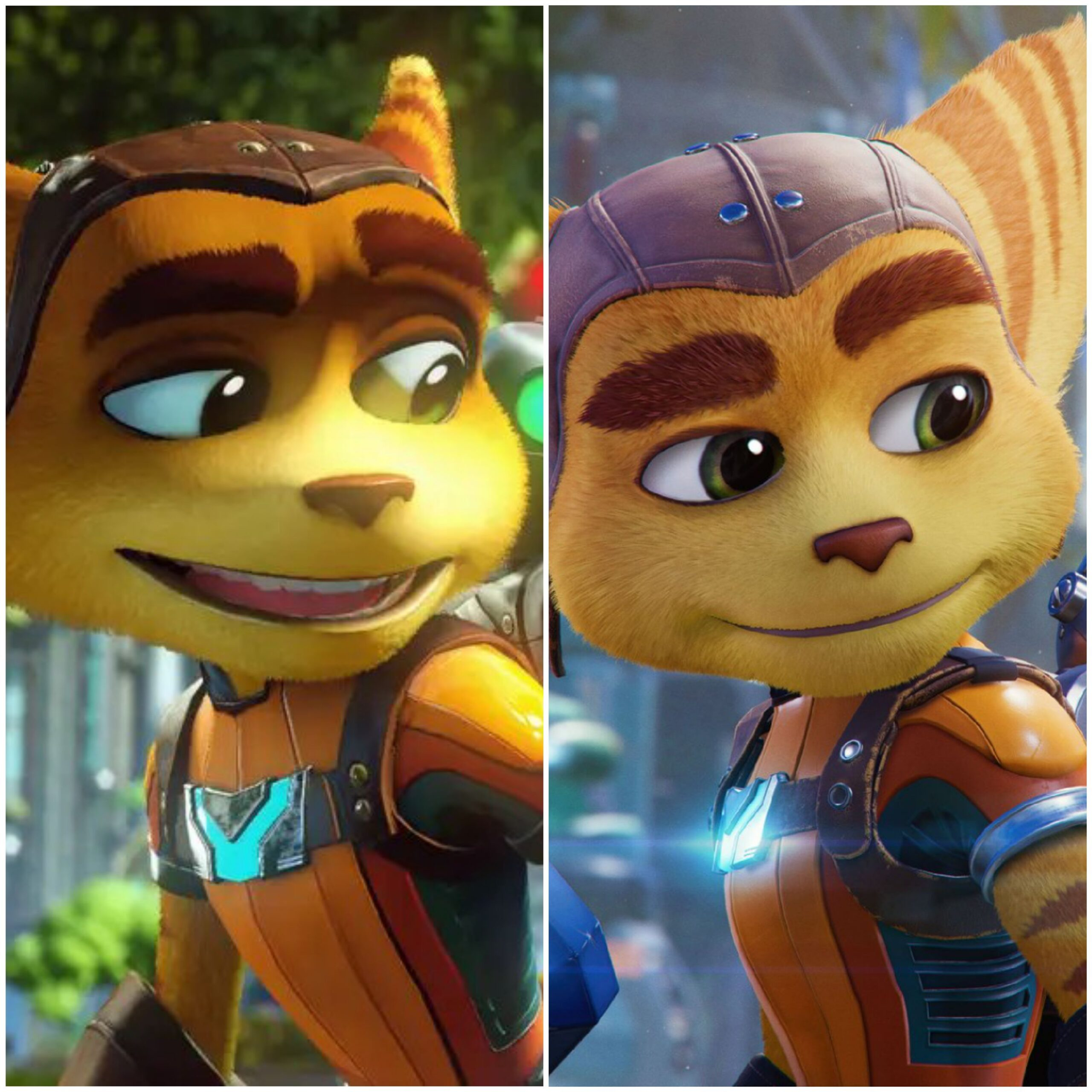 ratchet and clank visual compariso