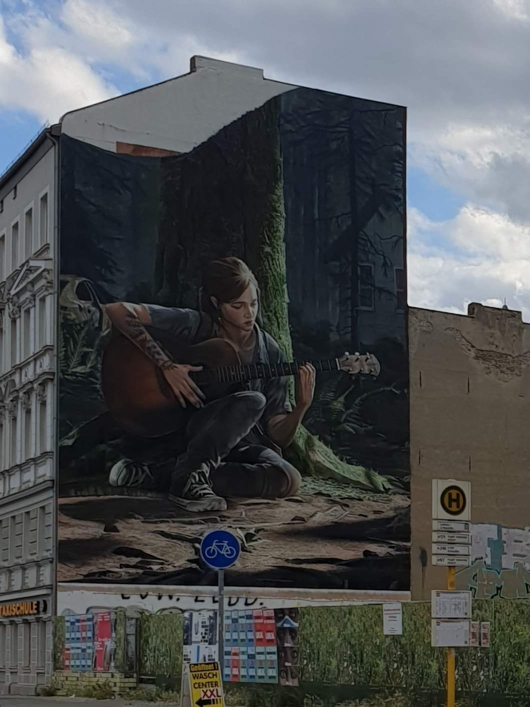 the last of us part 2 painting