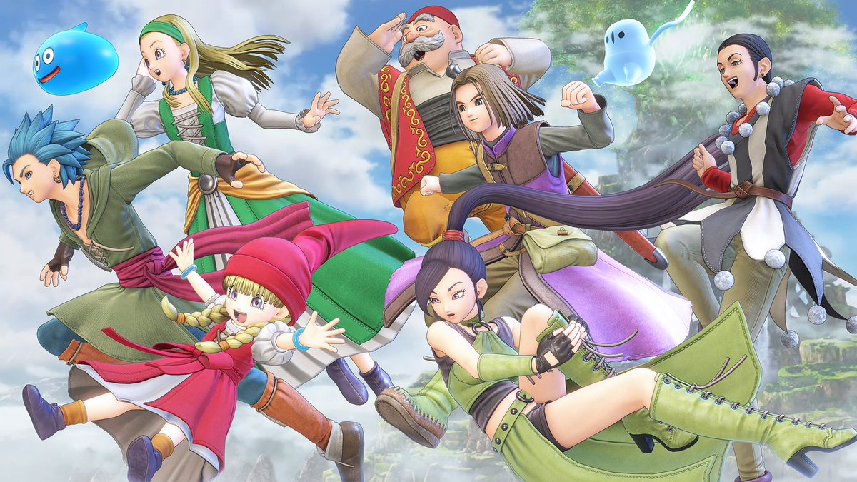 Dragon Quest XI S Demo Leaked Through PlayStation Store