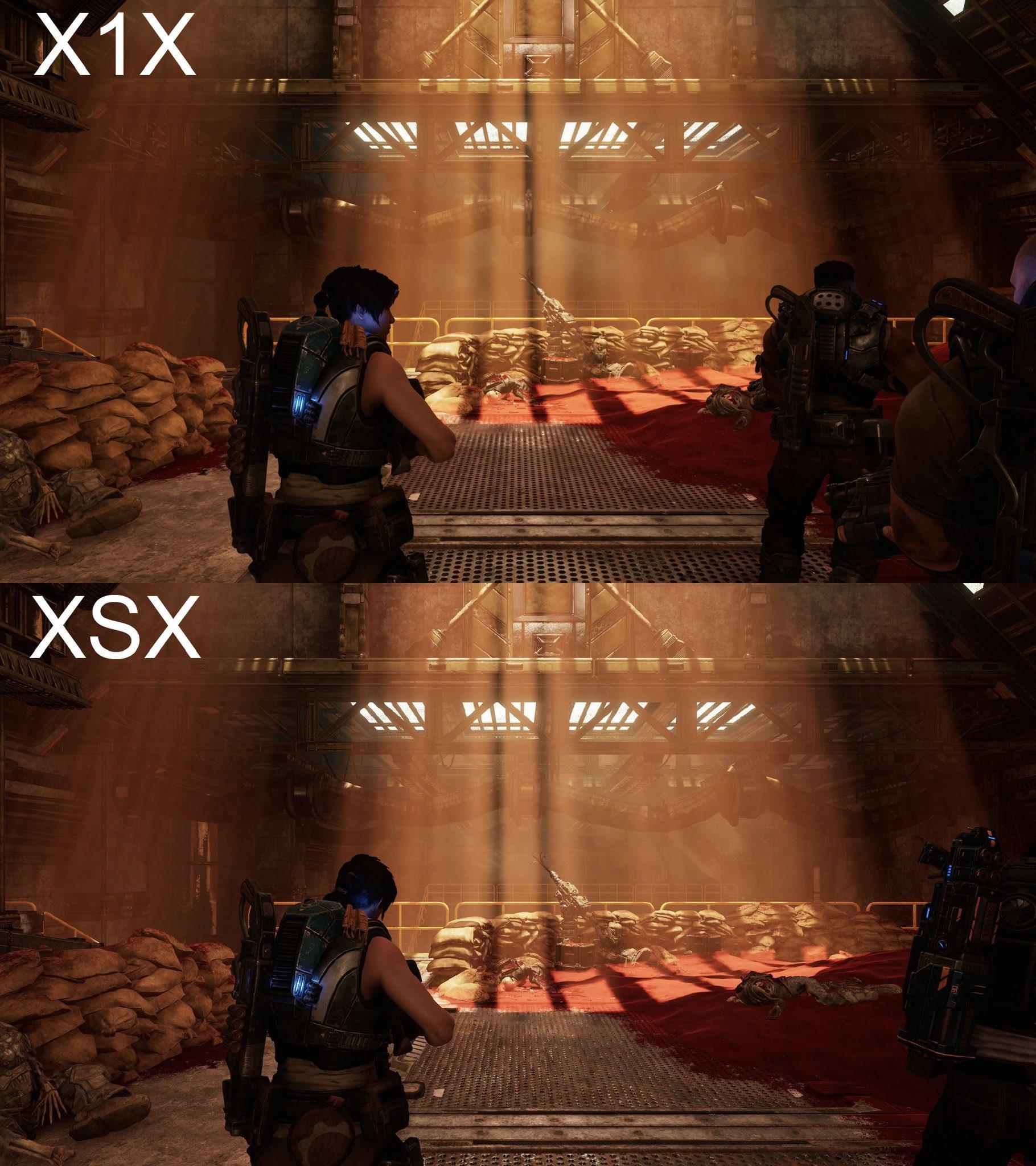 gears 5 xbox series x comparison