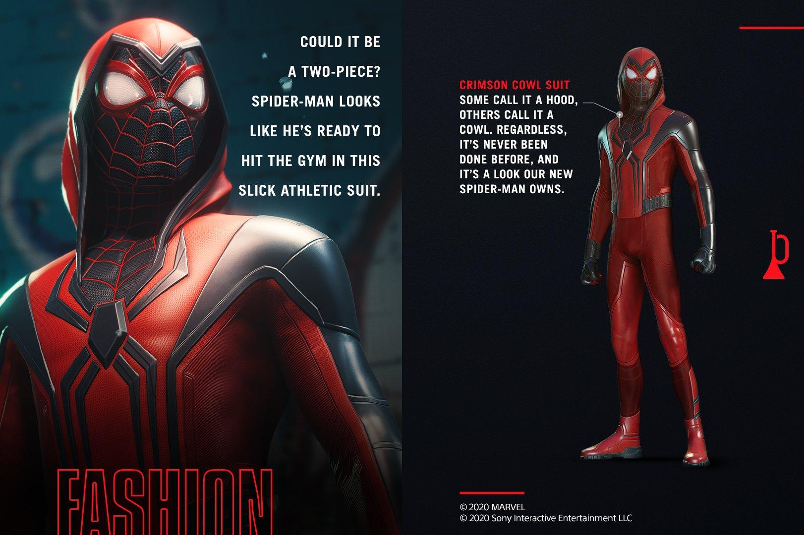 marvel's spider-man new suit