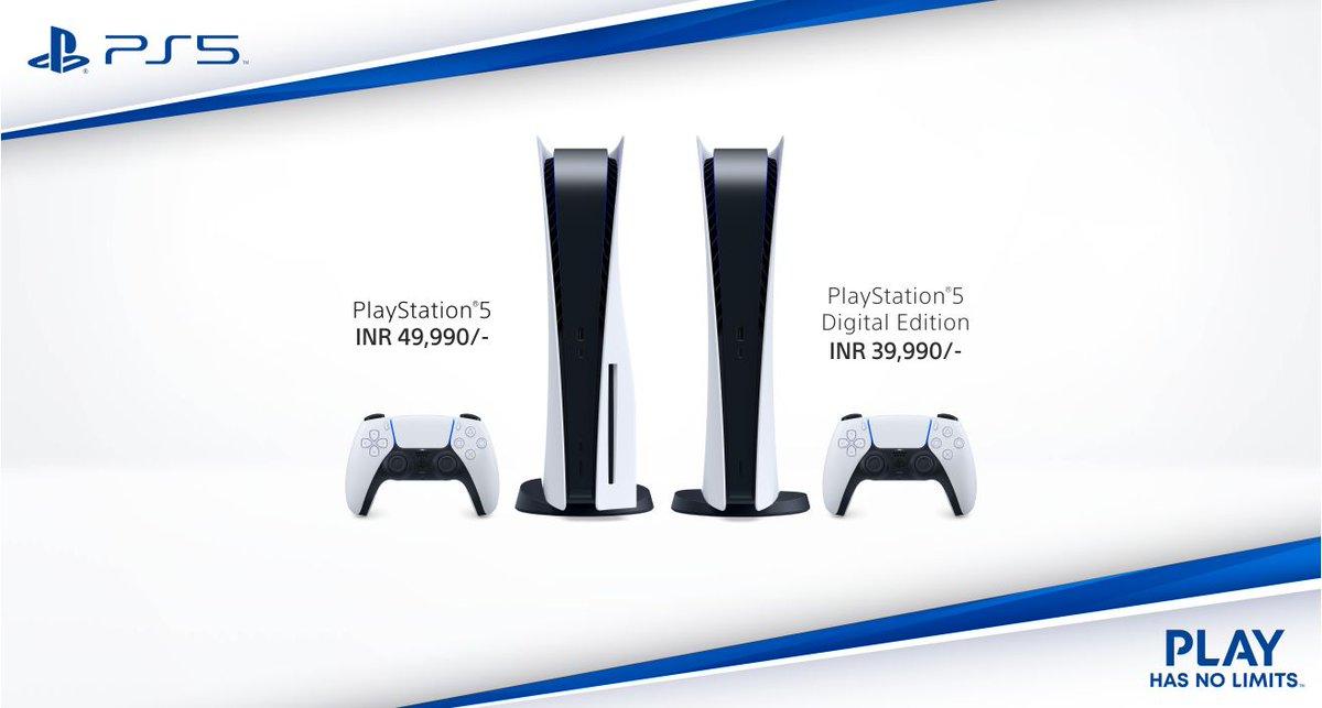 ps5 price india