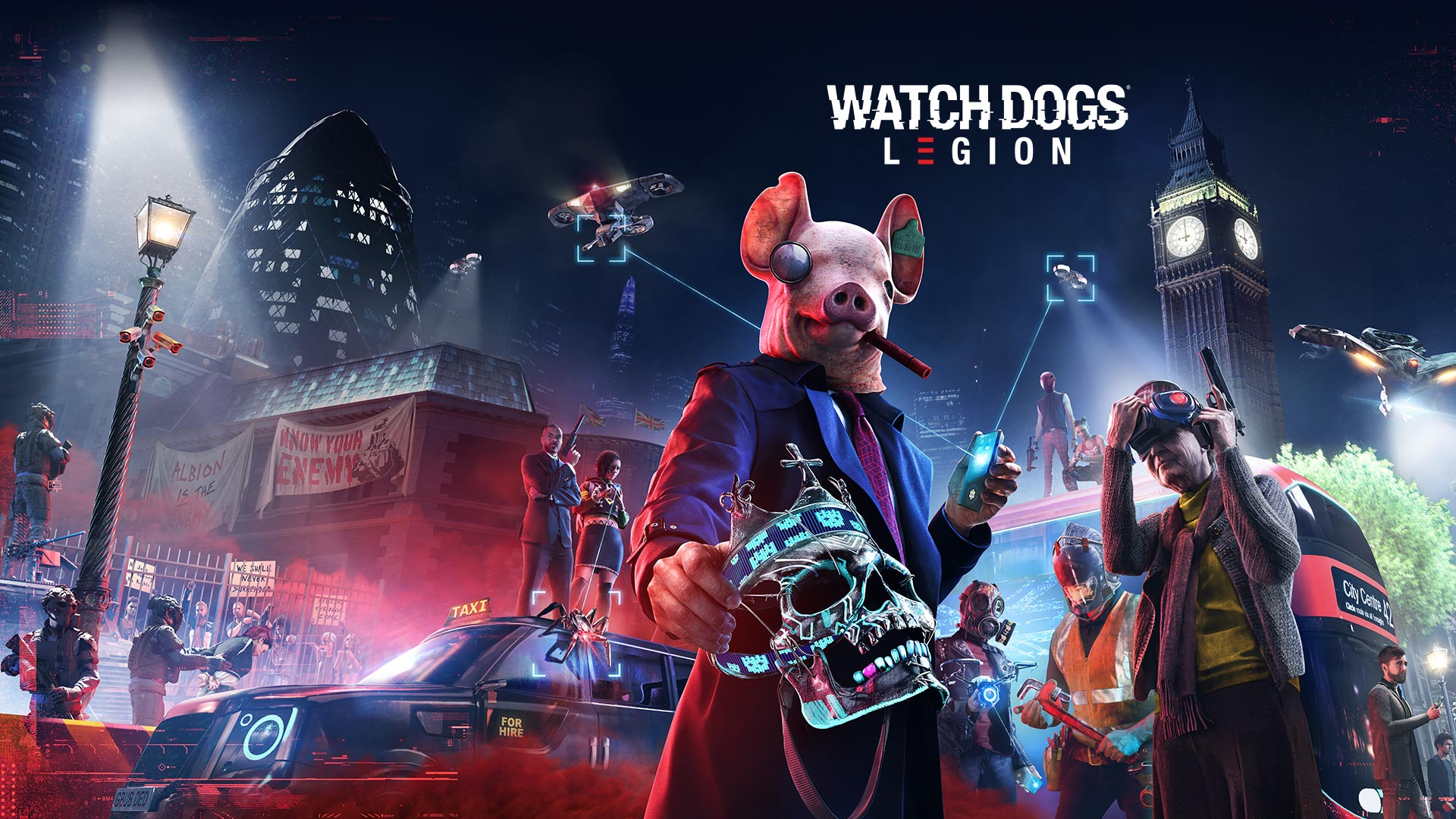 watch dogs legion resolution xbox series x