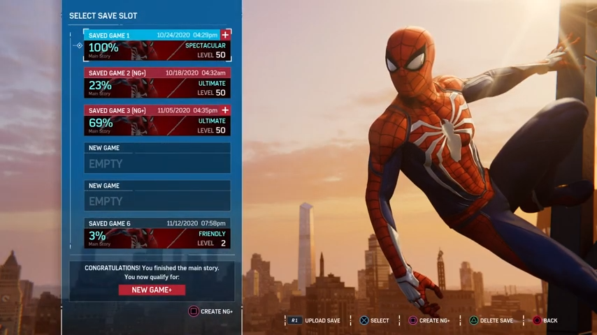 spider-man save data transfer guide