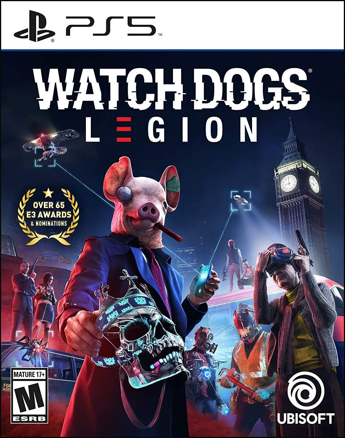 watch dogs legion cover arabic