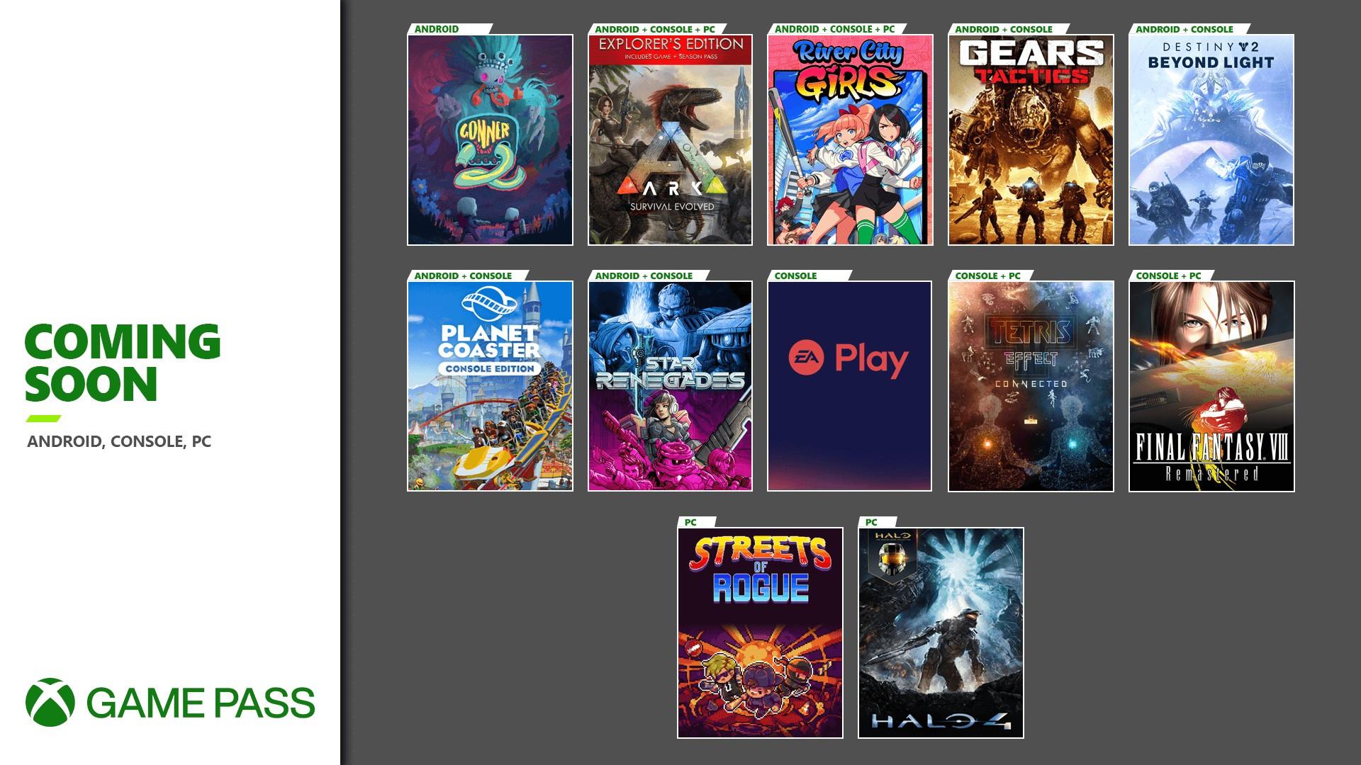xbox game pass november update