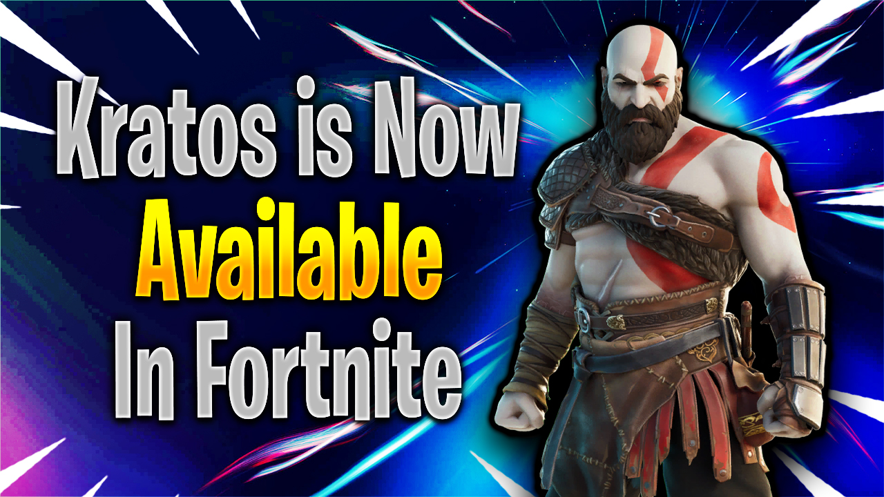 Fortnite Gets Armored Kratos Skin and It Is Not What The Fans Expected