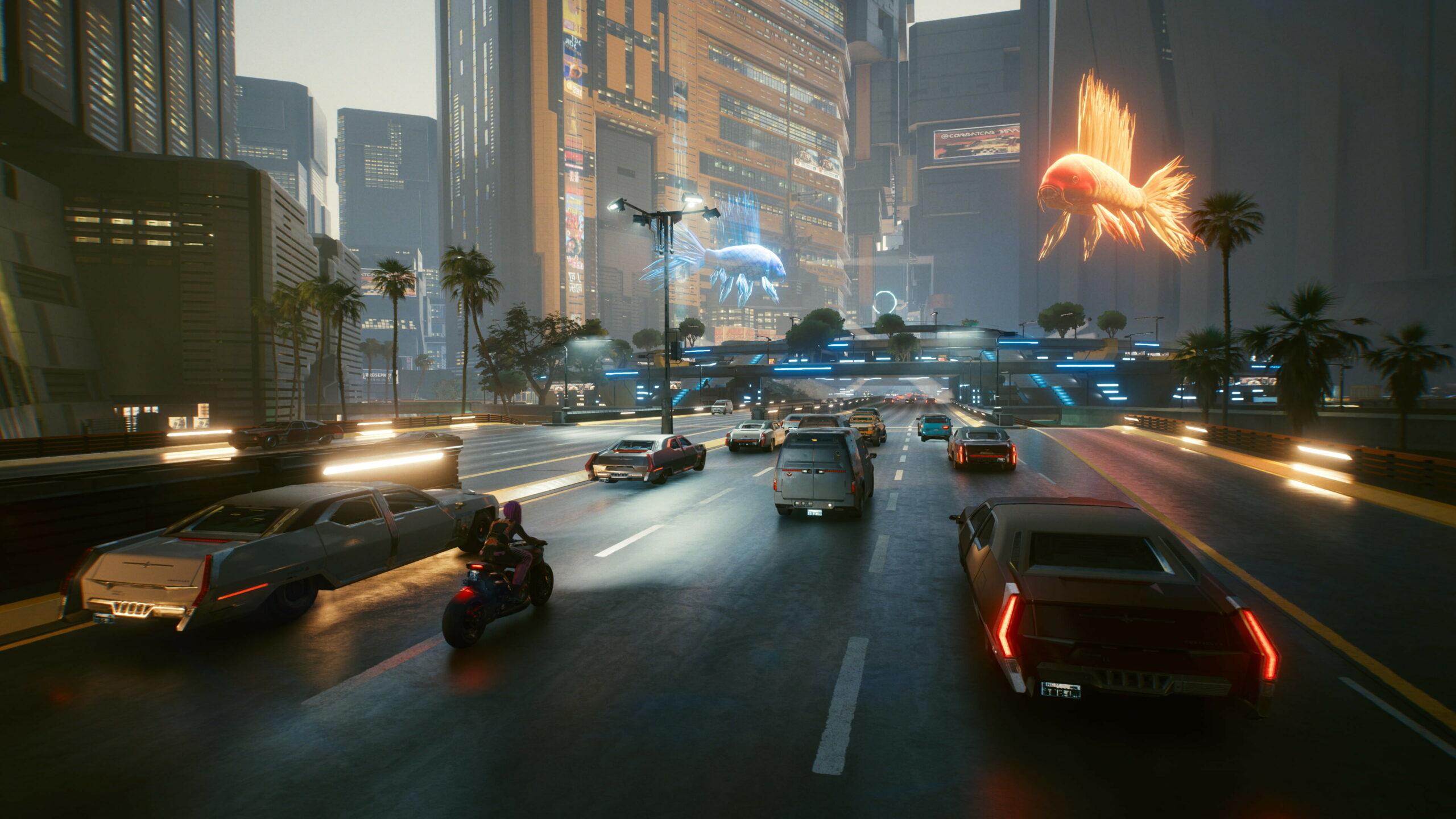 cyberpunk 2077 comparison