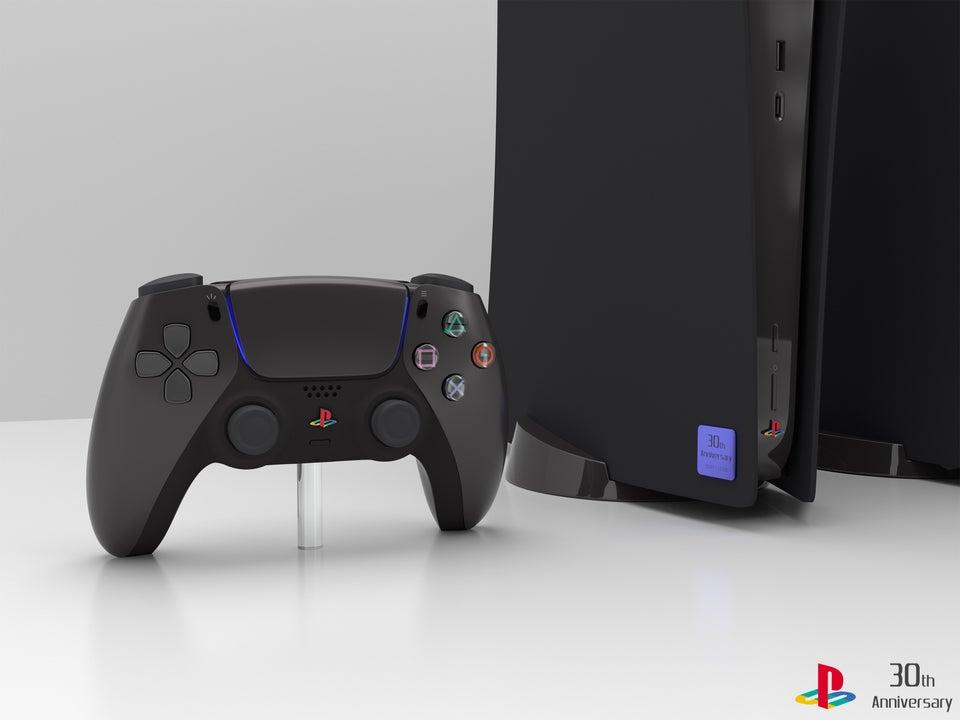 black ps5 design