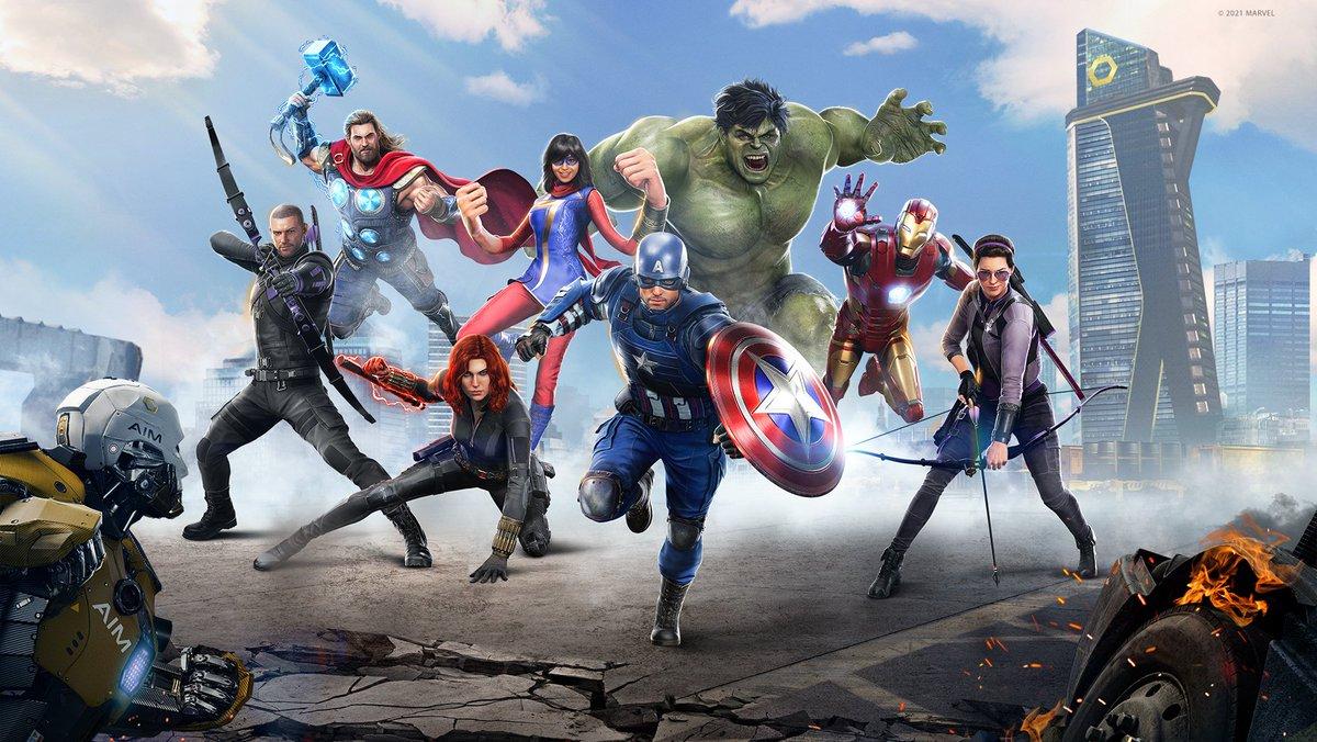 marvel's avengers update
