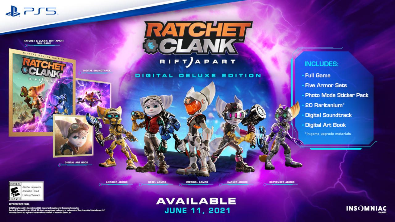 ratchet and clank rift apart state of play