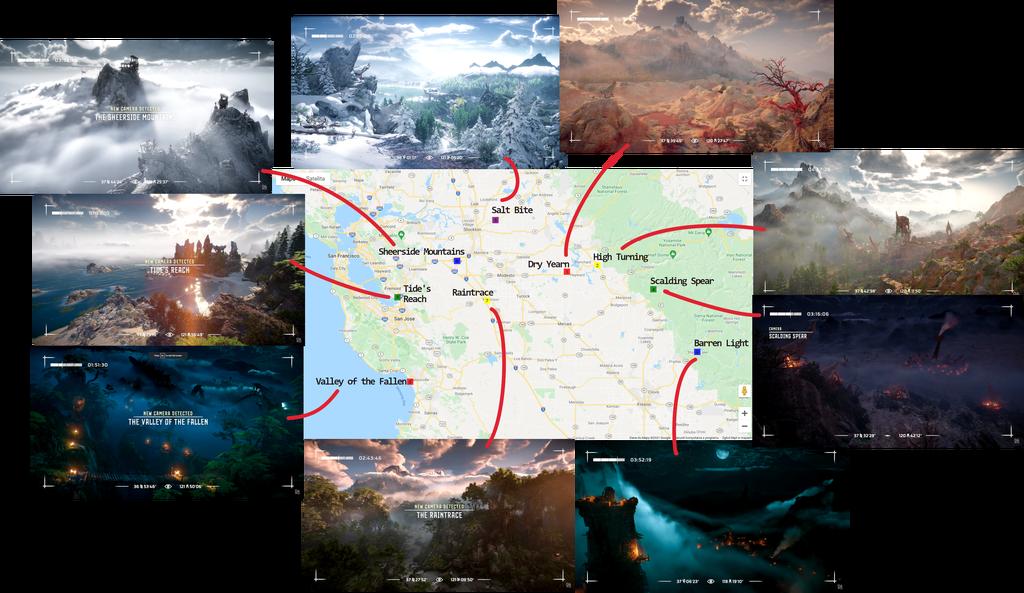 horizon forbidden west map